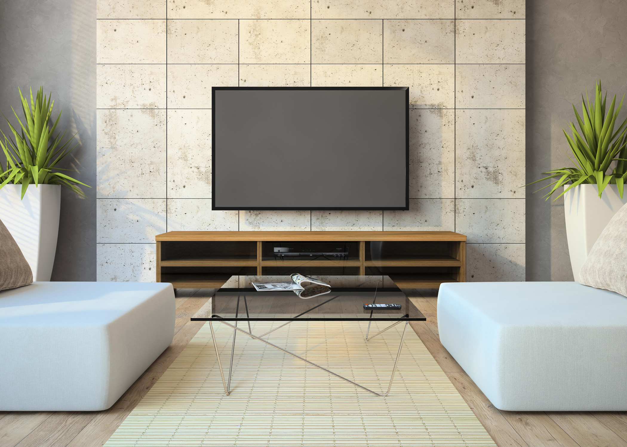 mueble tv 2 plantilla